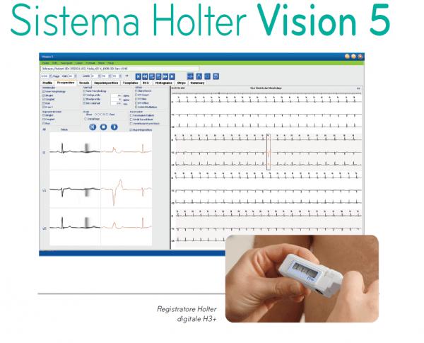 Sistema Holter Vision™ 5